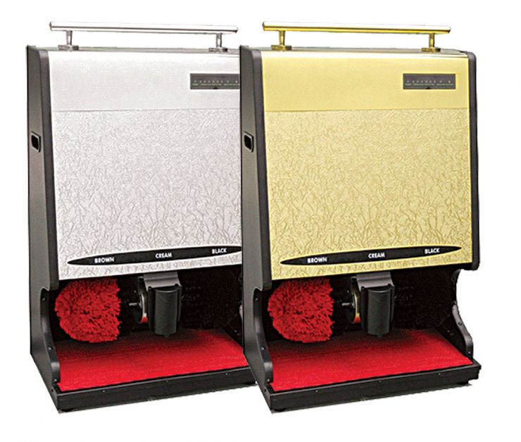 Fotoselli Ayakkabı Cilalama Makinesi